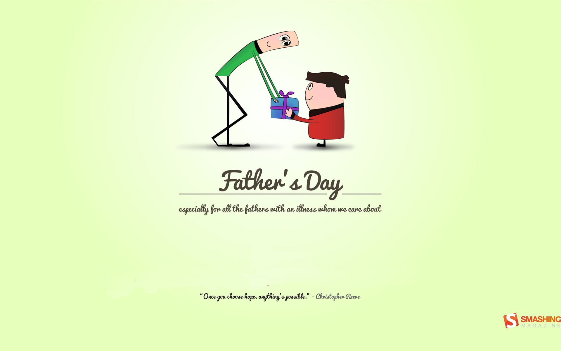 Never Lose Hope Fathers Day Wallpaper Free Download