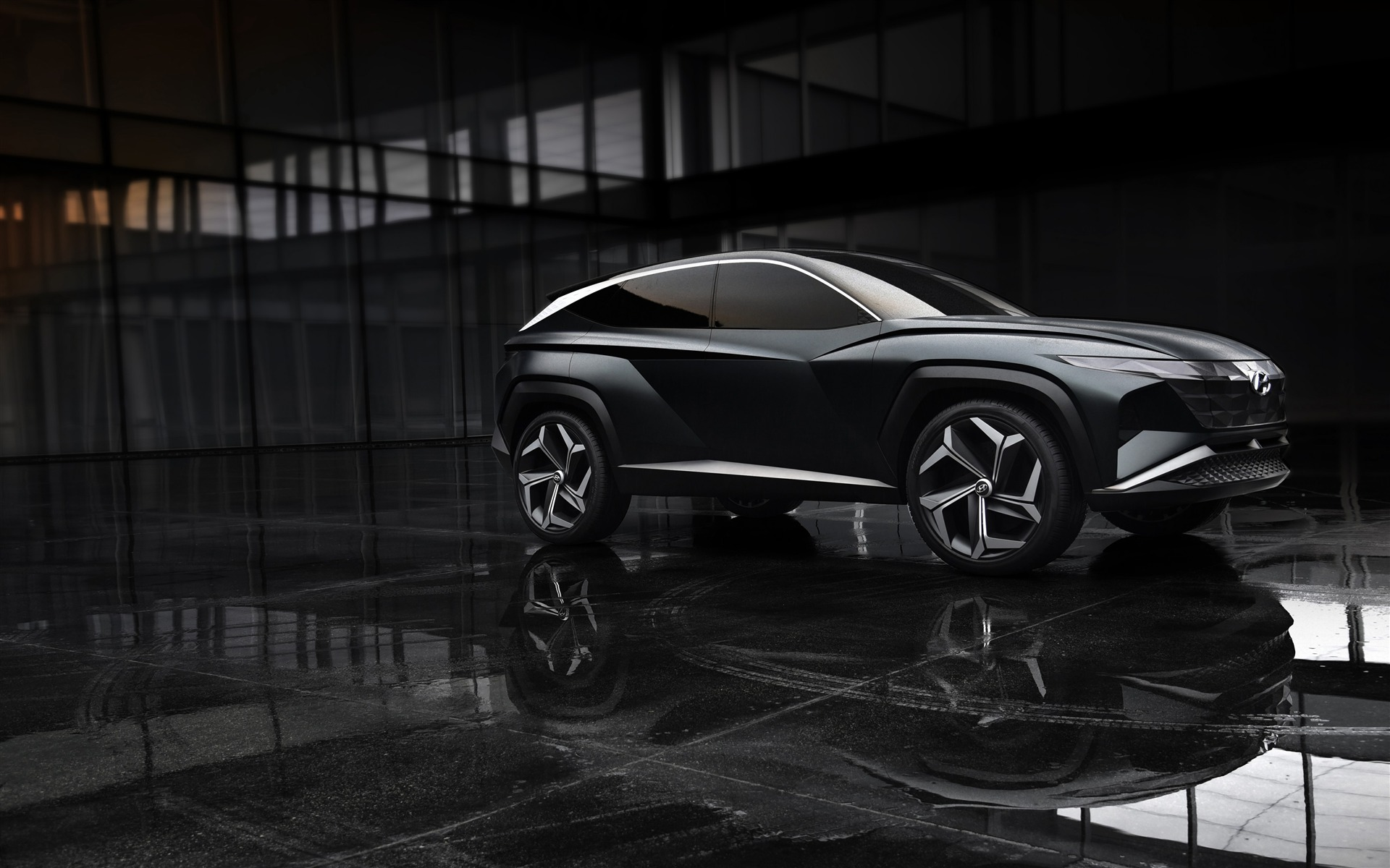Hyundai Vision 2020 Electric Car Wallpaper 1920x1200