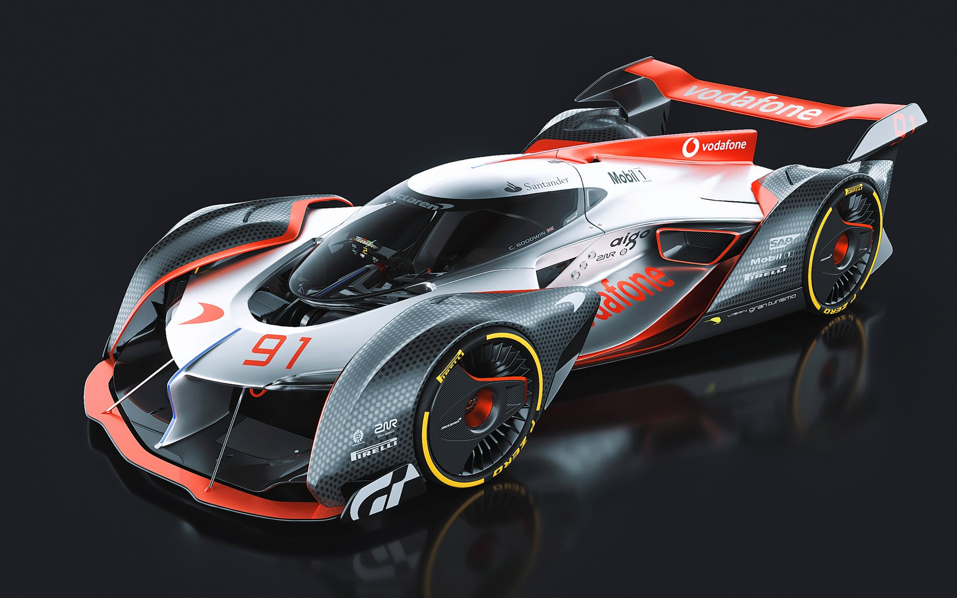 McLaren Ultimate Vision Gran Turismo Wallpaper